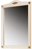 Зеркало Belux Верди В85 (слоновая кость/патина золото) -