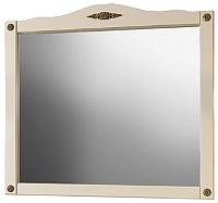 Зеркало Belux Империя В105 (37, слоновая кость/патина золото) -