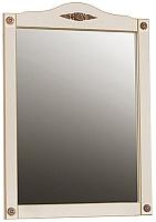 Зеркало для ванной Belux Империя В85 (37, слоновая кость/патина золото) -