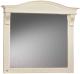 Зеркало для ванной Belux Каталония В105 (37, слоновая кость/патина золото) -