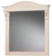 Зеркало для ванной Belux Каталония В85 (37, слоновая кость/патина золото) -