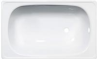Ванна стальная Верх-Исетский металлургический завод Antika 120x70 (белая орхидея, с ножками) -