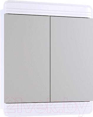 Купить Шкаф с зеркалом для ванной Aqwella, Корсика (Kor.04.07), Россия