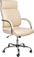 Кресло офисное Седия Alexander Chrome Eco (кремовый) -