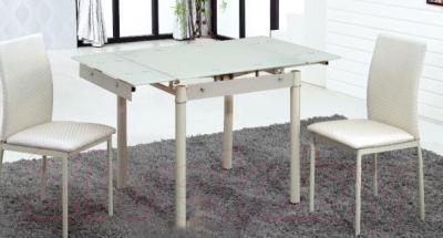 Обеденный стол Седия Karlota 66 (кремовый) - в интерьере