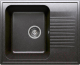 Мойка кухонная Polygran F-07 (черный) -