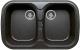 Мойка кухонная Polygran F-150 (черный) -