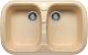 Мойка кухонная Polygran F-150 (бежевый) -