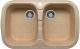 Мойка кухонная Polygran F-150 (песочный) -