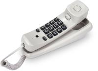 Проводной телефон Texet TX-219 (светло-серый) -