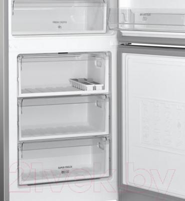 Холодильник с морозильником Hotpoint-Ariston HF 4201 X R