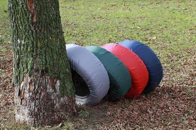 Чехол для колес ТрендБай Коверин 200 (серый)