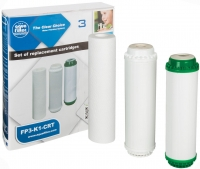 Комплект картриджей Aquafilter FP3-K1-CRT (3шт) -