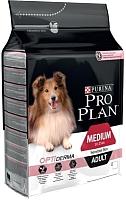 Корм для собак Pro Plan Medium Adult Sensitive Skin с лососем и рисом (18кг) -