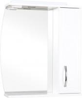 Шкаф с зеркалом для ванной Аква Родос Декор 70 R / ОР0000560 -