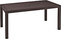Стол садовый Keter Melody / 204122 (коричневый) -