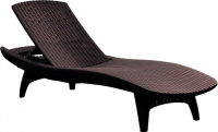 Шезлонг Keter Pacific Lounger (коричневый) -