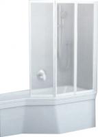Стеклянная шторка для ванны Ravak VS3 130 (795V0100ZG) -