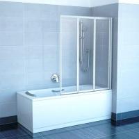 Стеклянная шторка для ванны Ravak VS3 130 (795V0100Z1) -