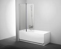 Стеклянная шторка для ванны Ravak CVS2-100 L (7QLA0C00Z1) -