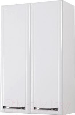 Шкаф-полупенал для ванной Аква Родос Декор 50 / ОР0000563