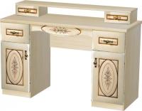 Туалетный столик Мебель-Неман Василиса СП-001-07 (дуб беленый/патина) -