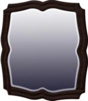 Зеркало Мебель-Неман Тиффани МН-122-08 (белый полуглянец/венге) -