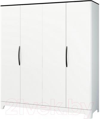 рекомендую шкаф мебель неман верона мн 024 04 белый глянец