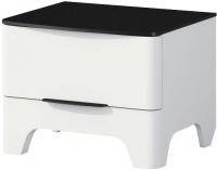 Прикроватная тумба Мебель-Неман Верона МН-024-02 (белый глянец) -