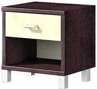 Прикроватная тумба Мебель-Неман Домино Венге ВК-04-17 (береза/венге) -