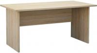 Письменный стол Мебель-Неман Домино Сонома ВК-04-31 (белый полуглянец/дуб Сонома) -