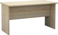 Письменный стол Мебель-Неман Домино Сонома ВК-04-32 (белый полуглянец/дуб Сонома) -