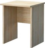 Письменный стол Мебель-Неман Домино Сонома ВК-04-33 (белый полуглянец/дуб Сонома) -