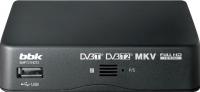Тюнер цифрового телевидения BBK SMP131HDT2 (темно-серый) -