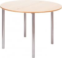 Обеденный стол Древпром М2 90x50 (ясень/металлик) -
