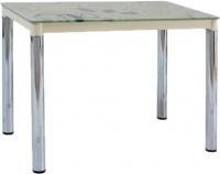 Обеденный стол Signal Damar II (кремовый/хром) -