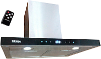 Вытяжка Т-образная Backer CH60E-TGL200 (нержавеющая сталь/черное стекло) -