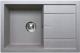 Мойка кухонная Tolero R-112 (серый) -