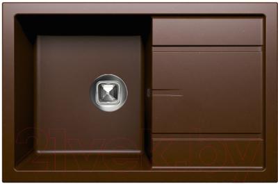 Мойка кухонная Tolero R-112 (коричневый)