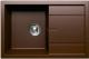 Мойка кухонная Tolero R-112 (коричневый) -