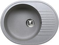 Мойка кухонная Tolero R-122 (серый) -