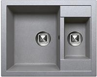 Мойка кухонная Tolero R-109 (серый) -