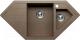 Мойка кухонная Tolero R-114 (темно-бежевый) -