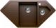 Мойка кухонная Tolero R-114 (коричневый) -
