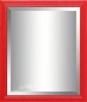 Зеркало интерьерное Гамма 25 (красный металлик) -