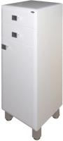 Шкаф-полупенал для ванной Гамма 31 оФ2 (белый, правый) -