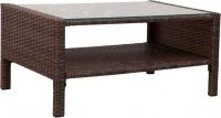 Журнальный столик Седия Ibiza (сталь/коричневый) -