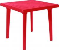 Стол пластиковый Алеана Квадратный 80x80 / 100012 (вишневый) -