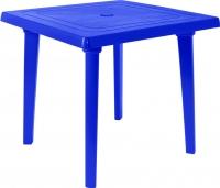 Стол пластиковый Алеана Квадратный 80x80 / 100012 (темно-синий) -