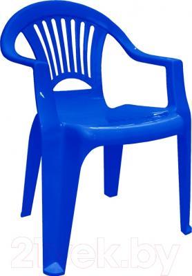 Стул пластиковый Алеана Луч / 101053 (темно-синий)